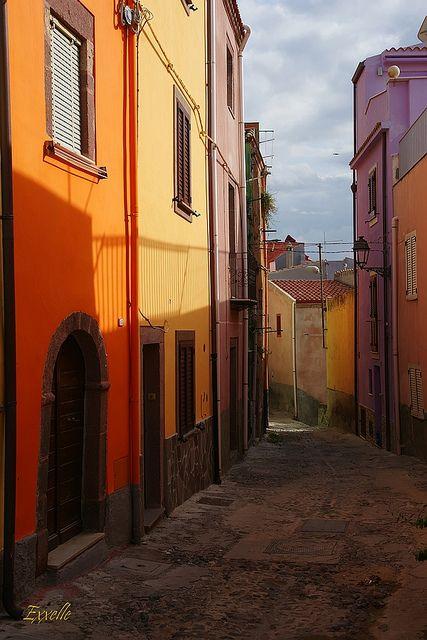Bosa, Oristano, Sardinia, Italy