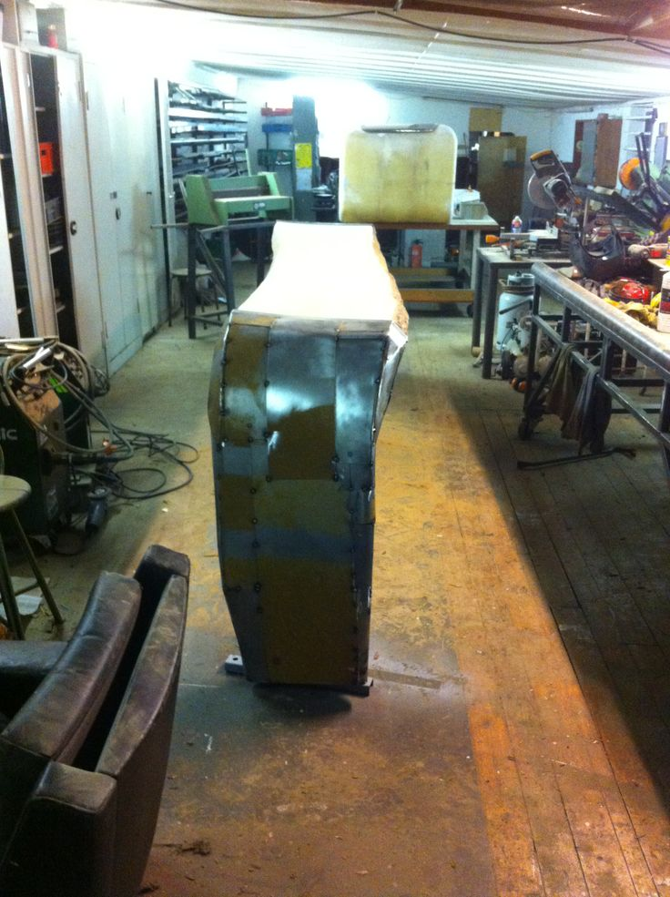female curved table front