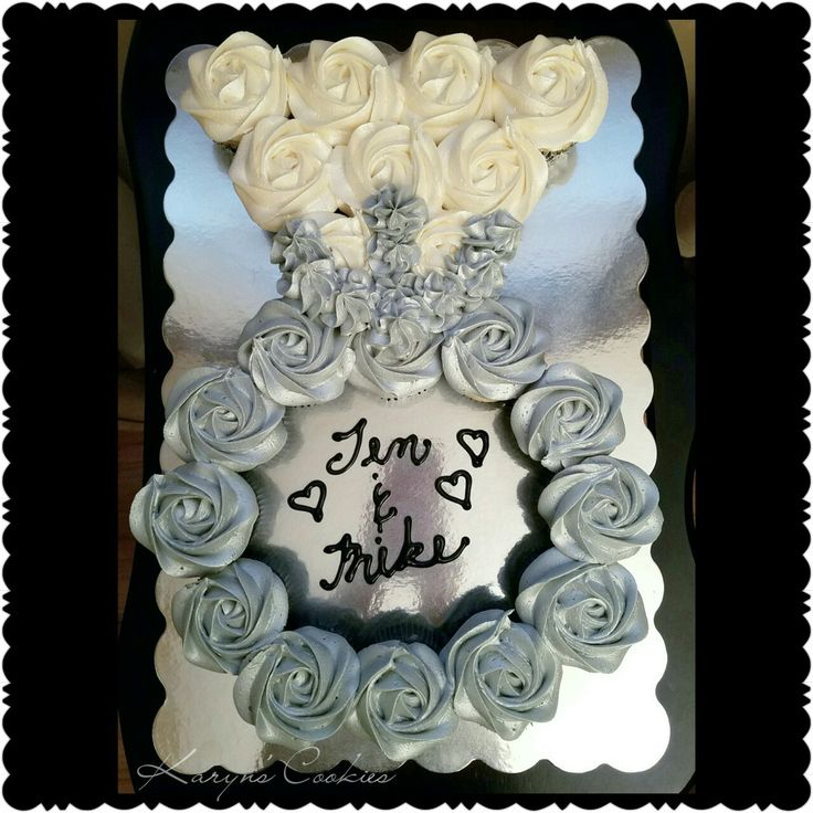 Engagement Ring Bridal Shower Wedding Cupcakes Cake Pull Apart Cakes