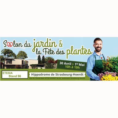 ETESIA : Découvrez au Salon du Jardin & Fête des Plantes les 30 avril et le 1er mai 2016 à l'Hippodrome Strasbourg-Hoerdt, la Buffalo 124, la Bahia M2E Electric, l'Attila 88, la tondeuse robot ETmower