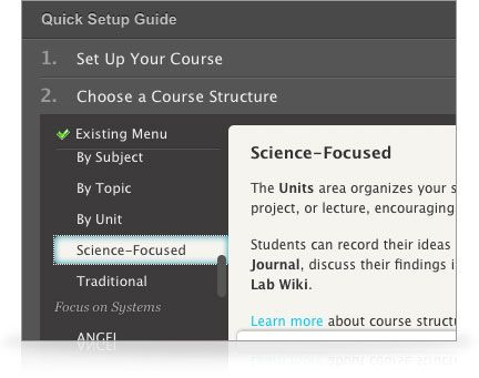 Learn more about CourseSites online learning resources for the classroom.