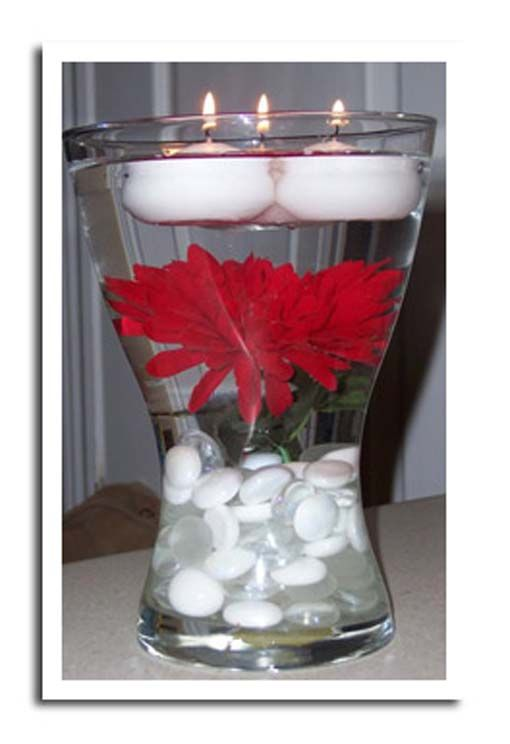 Inexpensive wedding centerpiece ideas leave a reply to for Cheap elegant wedding decorations