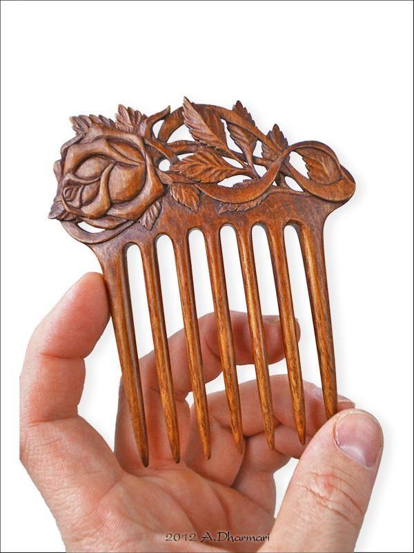 деревянный гребень для волос - Поиск в Google
