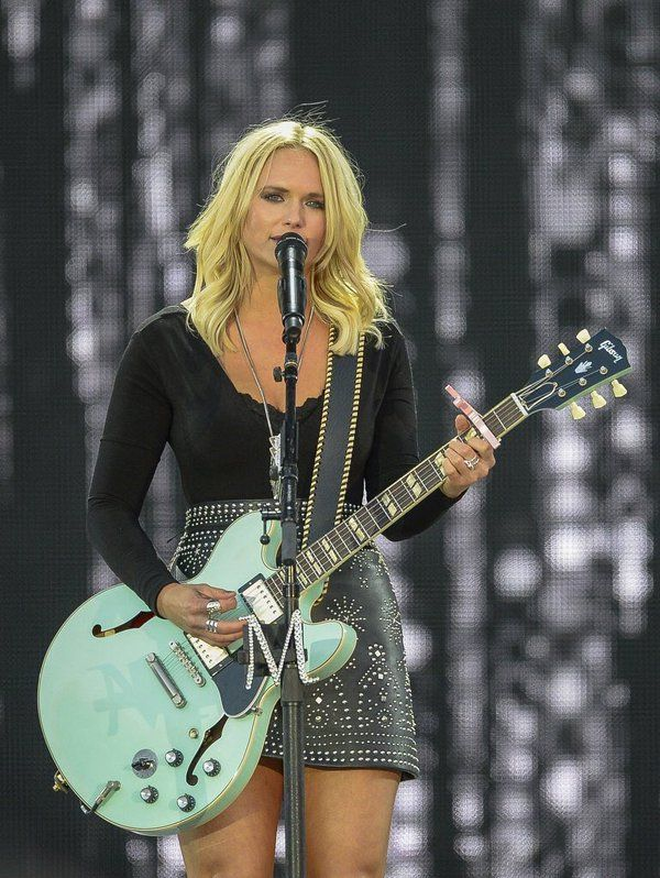 Miranda Lambert in Concert with Kenny Chesney April 23, 2016 in Auburn AL Spreading The Love