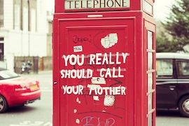 Ladies, just had a fight with your partner? New researchs suggest you call your, Mom she'll make you feel better.