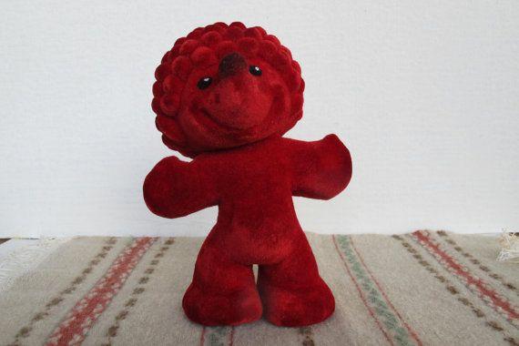 Soviet Vintage Hedgehog Soft Polymer Toy Russian by SkySecrets