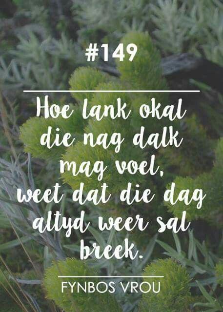 __[Fynbos Vrou/FB] # 149 #Afrikaans