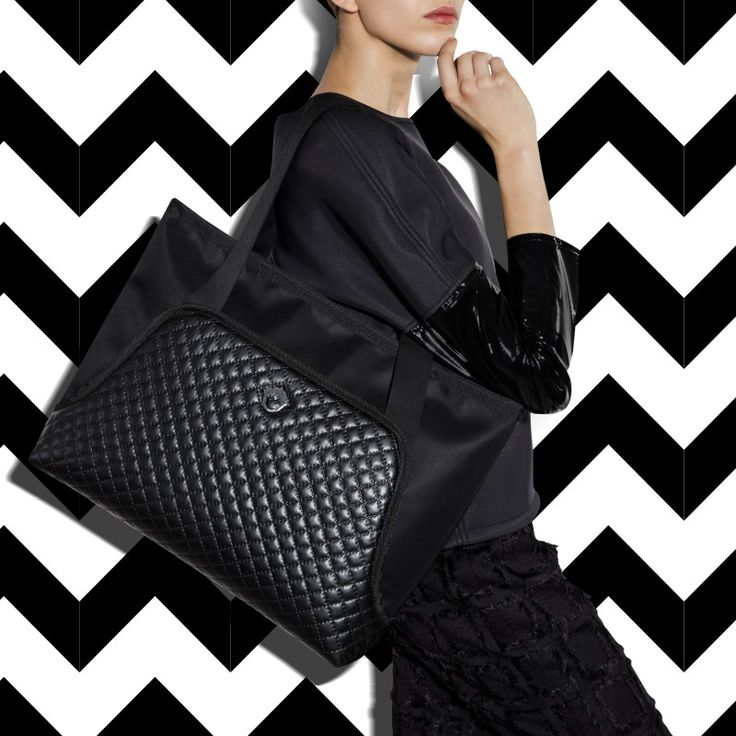 """GOSHICO, photo shoot, ss2015, Flowerbag, (shoulder """"M"""" bag), black. To download high or low resolution photos view Mondrianista.com (editorial use only)."""