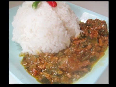 How to cook okra soup  - African Food Recipes