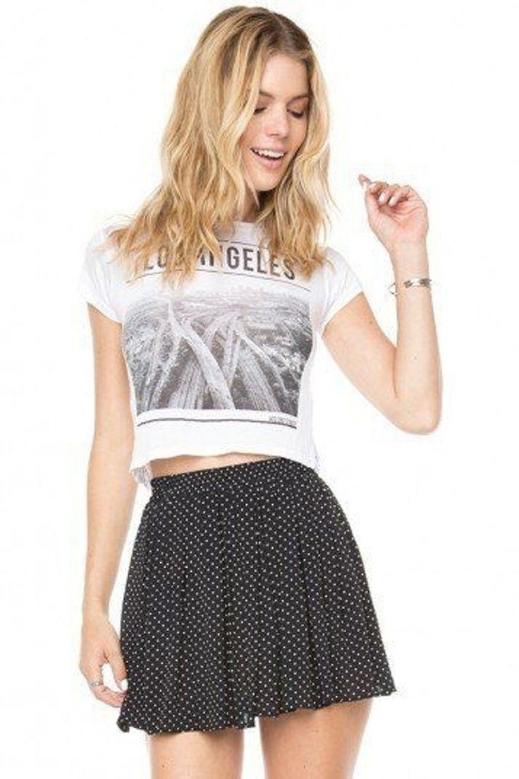 19. Luma jupe et #T-Shirt - 22 Brandy #Melville cherche #Inspiration de la #mode... → #Fashion