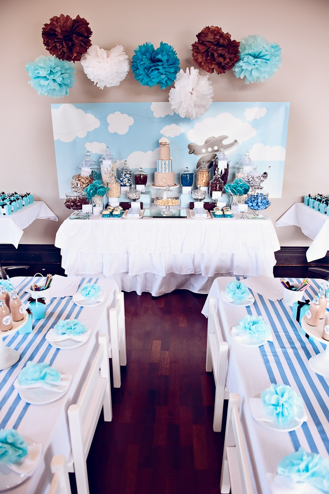 Beautiful White, and Turquoise Party