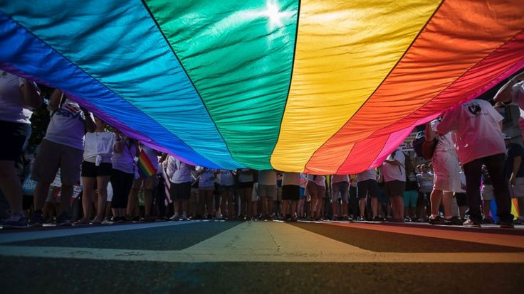 "The Latest on LGBT pride marches around the United States (all times local):  3:30 p.m.  In Los Angeles, the annual pride parade has been renamed the ResistMarch, and tens of thousands of people turned out in Hollywood, some carrying rainbow flags or signs reading ""Love trumps... - #LA, #Latest, #Parade, #Pride, #Renamed, #ResistMarch, #TopStories"