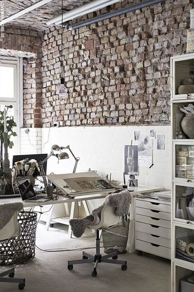 stantly conjuring images of New York-style loft apartments or chicly revamped old factory buildings – and it's easier than you think to make the trend work in your own home, too.   Whether your abode is rustic, traditional, minimal or contemporary, an exposed bric