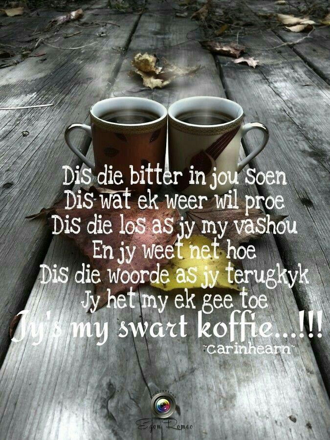 Swart koffie