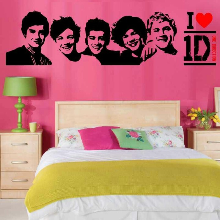 One Direction Room :) WONT EVEN NEED MANY POSTERS