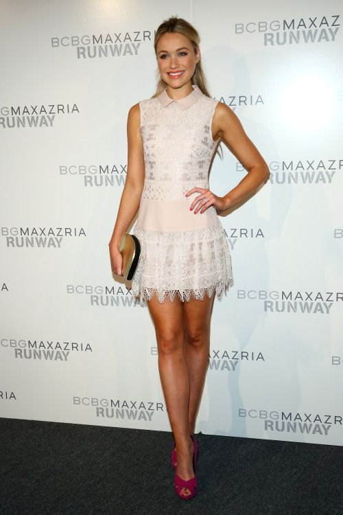 Katrina Bowden - BCBGMAXAZRIA fashion show in NYC 9/10/15