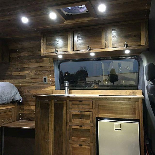 Mercedes Sprinter Van Build Update 4 Im A Lover Of Wood