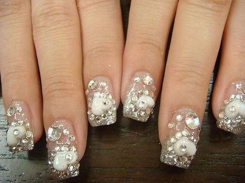 Crystal Nails For Weddings - 85 Best Nail Art Design Tips Images On Pinterest Make Up, Easy