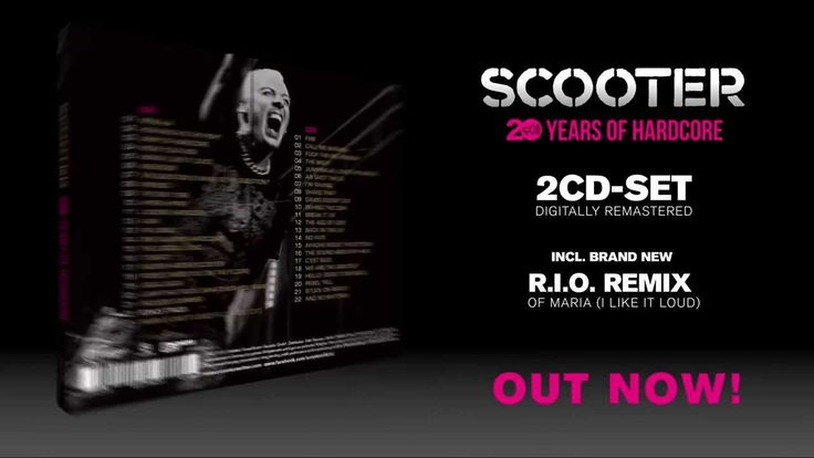 """Scooter - Maria (I Like It Loud) (R.I.O. Remix) SCOOTER GOES WILD & WICKED! FROM SUMMER 2017 SCOOTER STARTS CELEBRATING FOR ONE YEAR ITS 25TH ANNIVERSARY! GET YOUR TICKET HERE http://ift.tt/2fvpOmu """"WILD & WICKED  THE 25TH ANNIVERSARY YEAR TOUR 2017/2018 07.07.17 Leipzig - Völkerschlachtdenkmal 08.07.17 Mönchengladbach - Sparkassen Park 15.02.18 Berlin - Velodrom 16.02.18 Hamburg- Barclaycard Arena 24.02.18 Stuttgart - Porsche Arena 26.02.18 München- Zenith More tour dates soon! Check out…"""
