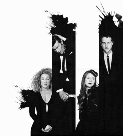 Family Photo!! River Song, the Doctor, Amelia Pond and Rory Williams <3 <3