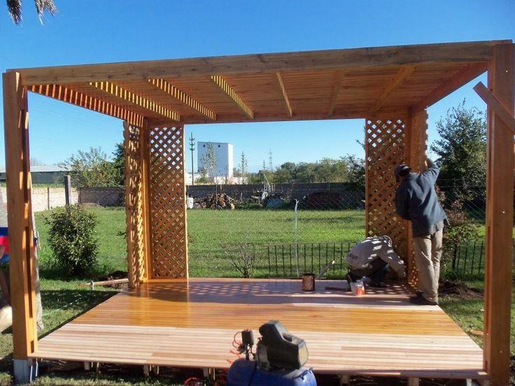 Consejos prácticos para el montaje de pérgolas de madera   Pixelscode
