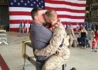 Such a wonderful story! Gay Marine Homecoming Kiss Spreads Love All Over Internet, World