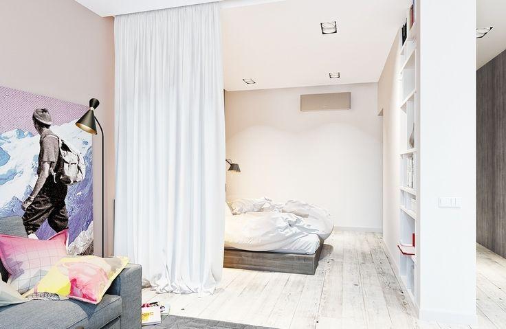 Спальное место за шторой