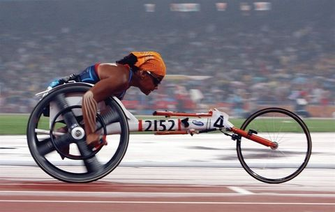 Anjali Forber-Pratt will compete alongside 4,000 athletes from 150 countries at the London Paralympic Games. She is the American record holder for the 4x100m and 4x400m in track and field. (photo: courtesy of WGBH 'Medal Quest')Sports, Anjali Forber Pratt