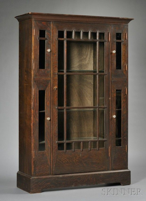 637 best images about meubel on pinterest art deco for Arts and crafts bookcase