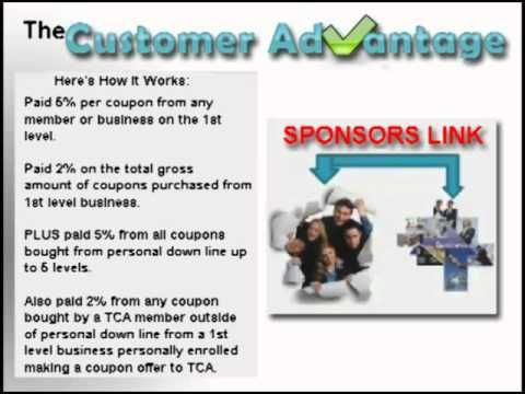 The Customer Advantage - How Commissions Are Paid