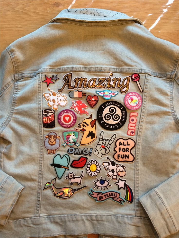 Diy denim jacket