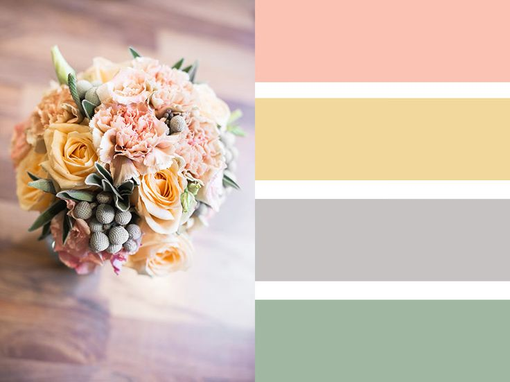 Colour scheme ideas for brides. Seasonal bouquet from fabulous florists.