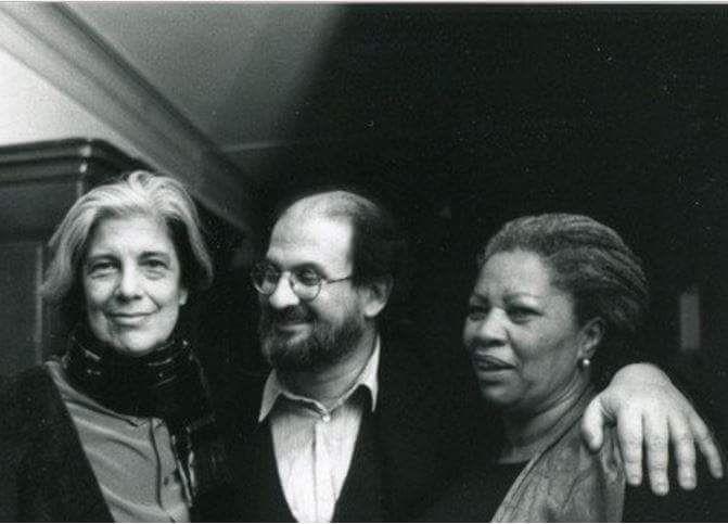 Susan Sontag, Salmon Rushdie and Toni Morrison