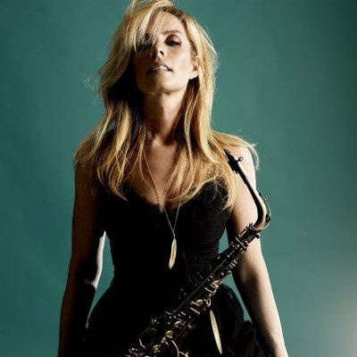Candy Dulfer, best Sax player out of the Netherlands.