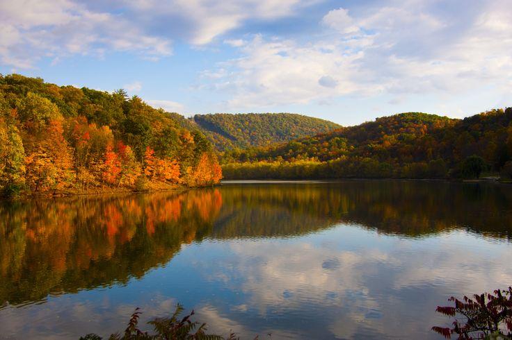 Fall colors raystowne lake pa summersmagic photography