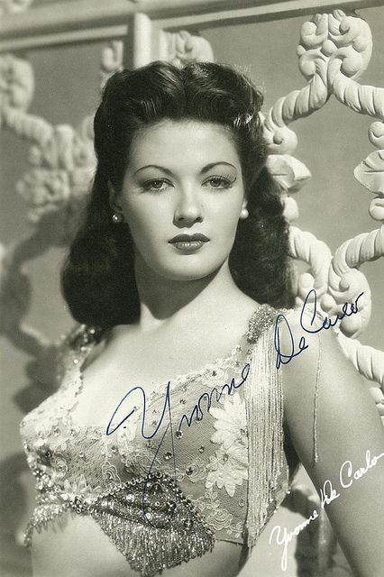 "Yvonne De Carlo also known as ""Lily Munster"""