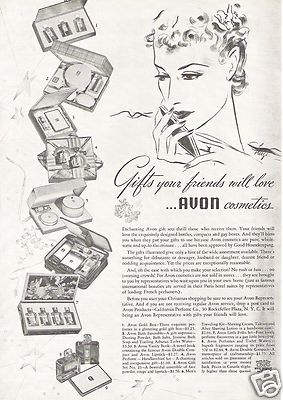 163 best Vintage AVON adverts/posters. images on Pinterest