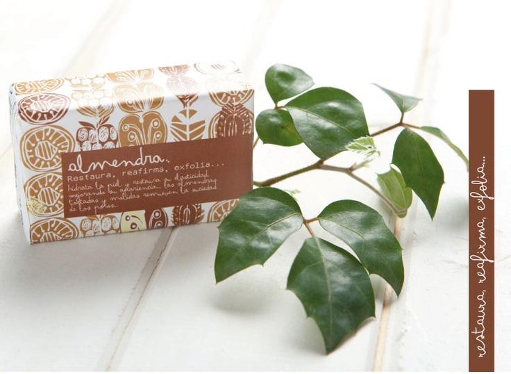 Almond soap: Restores, reaffirms, exfoliates