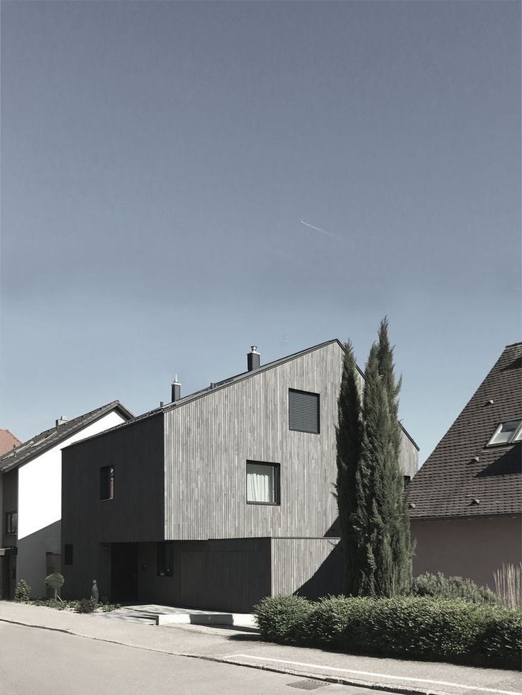 Schaedler / Gentsch Architekten, nova casa da família, casa G, Schollenhaldens …   – Details / Fassade