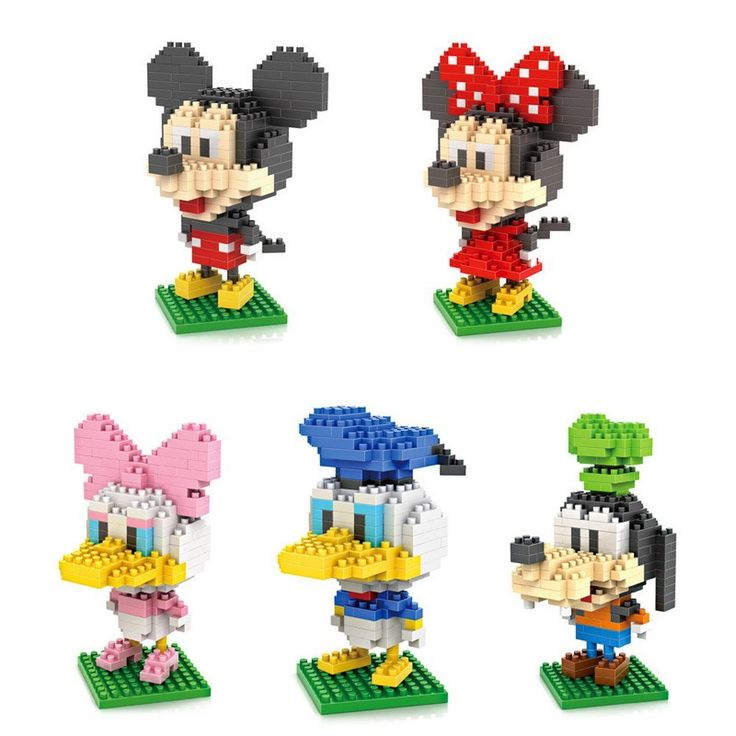 Disney Finds -  Disney Character Lego Collection
