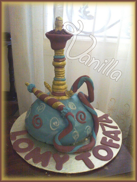 shisha cake by nancyyzz (vanilla), via Flickr
