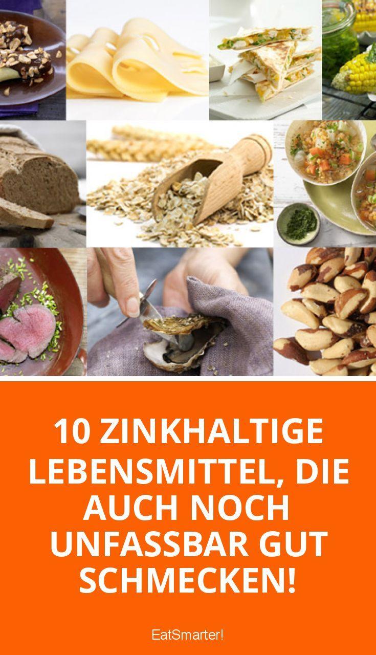 Die 10 zinkhaltigsten Lebensmittel   eatsmarter.de