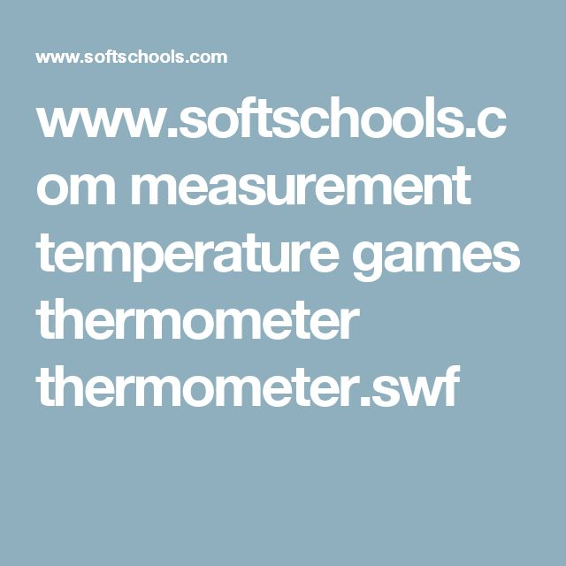 31 best cc y2 w2 images on pinterest for kids learning and bicycling softschools measurement temperature games thermometer thermometerswf fandeluxe Gallery