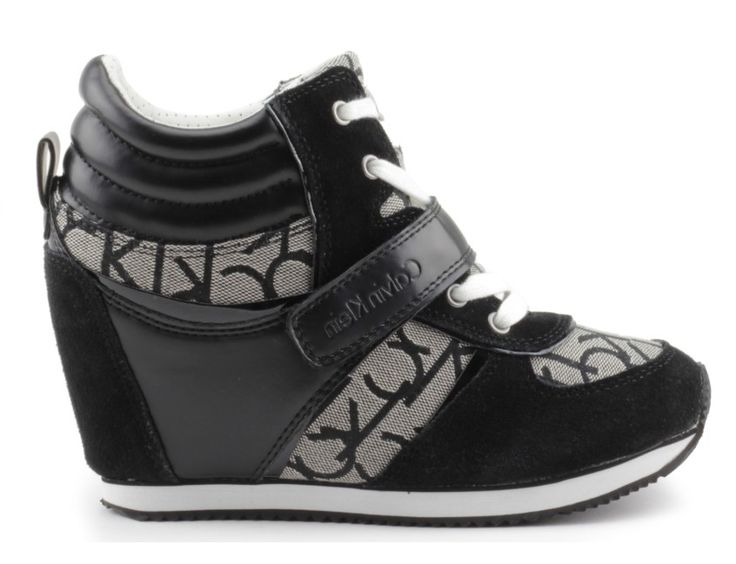 sneakersy calvin klein jeans viridiana black logo