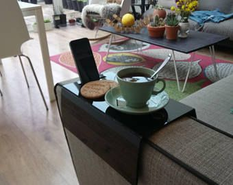 Bank Arm lade Placemat Sofa Tray Table, Sofa Arm lade, armsteun lade, Sofa Arm tabel, Couch lade, Koffietafel, Sofa tabel