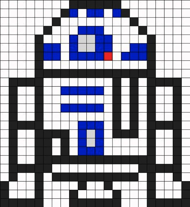 star wars perler bead patterns | Your Childhood Lives On In Perler Beads: 40 Nerdy 8-Bit Patterns