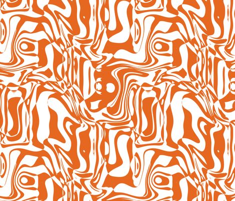 Orange Graffiti fabric, perfect for his curtains and exactly the colour we're looking for!