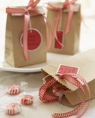 Depósito Santa Mariah: Saquinhos Para Lembranças de Natal!