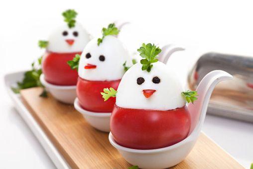 Kurczaczki z pomidorów