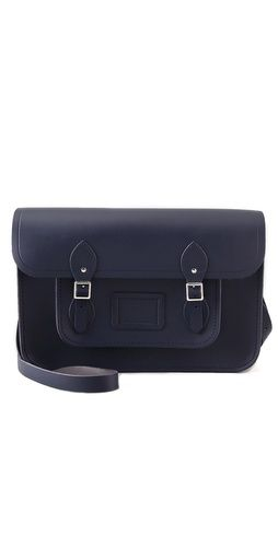 """all about the structure: Cambridge Satchel Classic 15""""."""